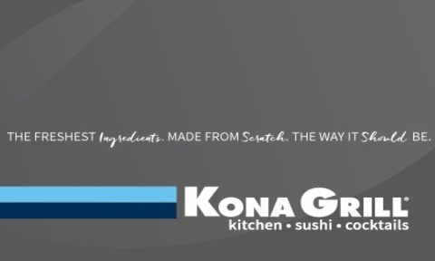Kona Grill  30% off $35 ECard Gift Card Image