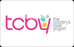 TCBY Yogurt 25% off $20 Ecard Gift Card Image
