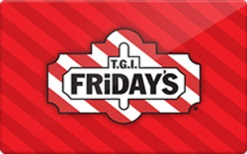TGI Fridays 24% off $25 Card Gift Card Image