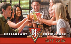 BJ's Restaurant And Brewhouse 40% Off $50 Card Gift Card Image
